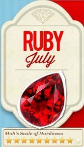 july birthstone the ruby