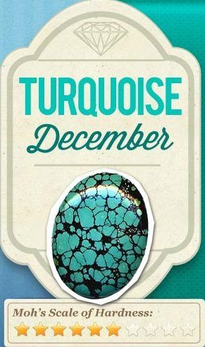 december birthstone the turqouise
