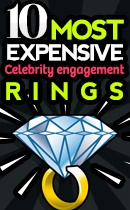10 Most Expensive Celebrity Engagement Rings