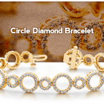 New Diamond Bracelet in Yellow Gold