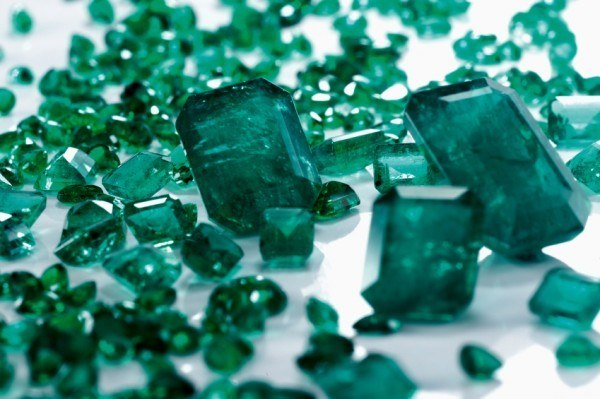 Emerald Green Gem Stones