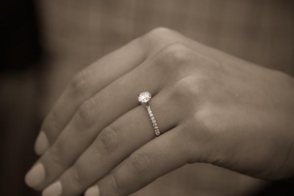 Custom Engagement Ring Proposal