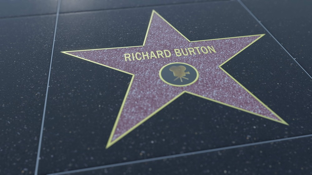 Richard Burton Hollywood Star