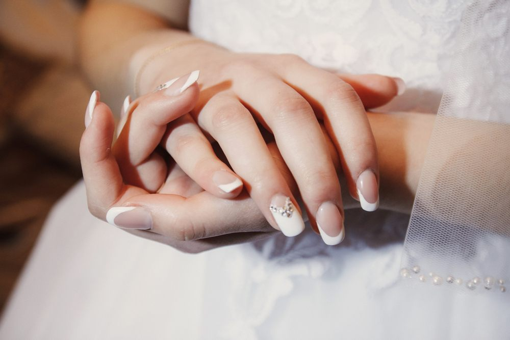 Hands in Wedding