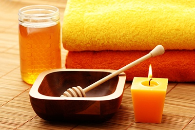 honey hand treatment