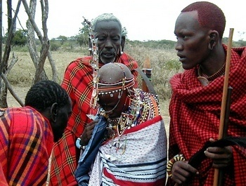 massai wedding