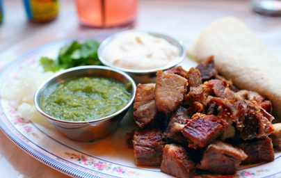 mexican roasted goat