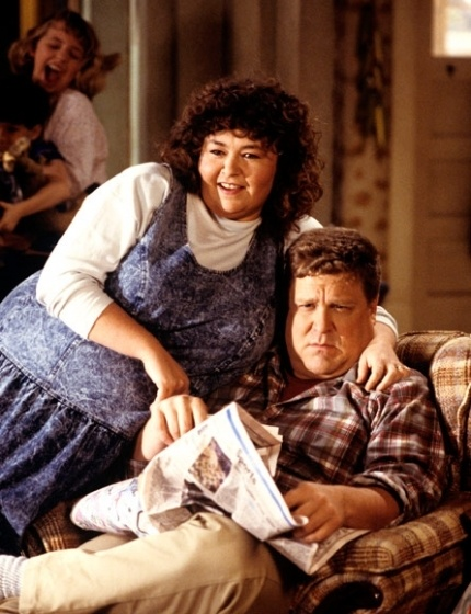 Roseanne and Dan Conner