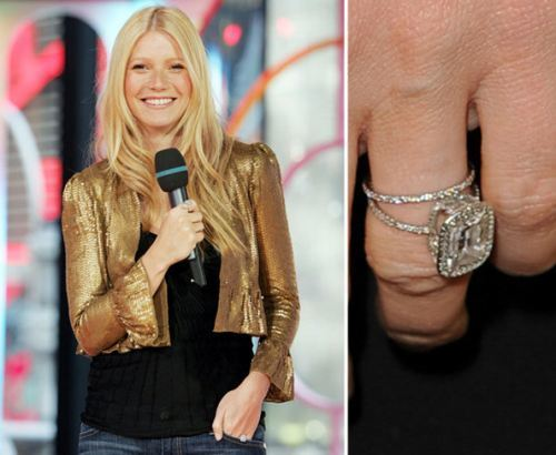 Celebrity Fave: The Ha... Gwyneth Paltrow Engagement Ring