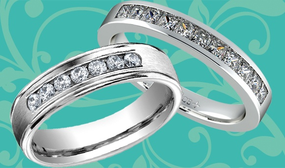 brilliance wedding ring set