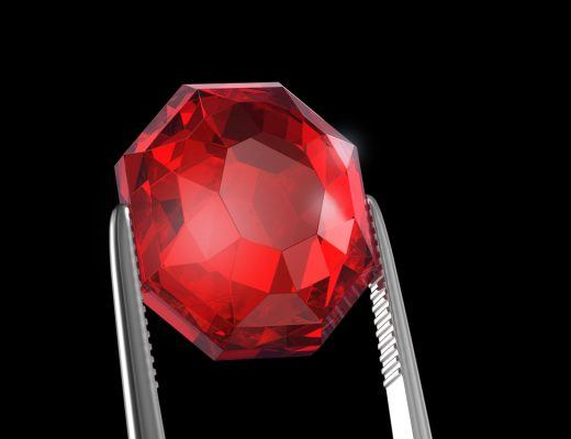 Ruby, the July birthstone