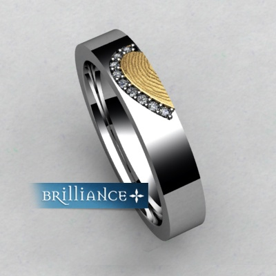 left side Brilliance ring