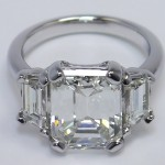 Custom Diamond Engagement Ring of the Month