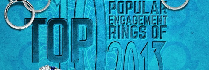 Top 10 Engagement Rings Banner