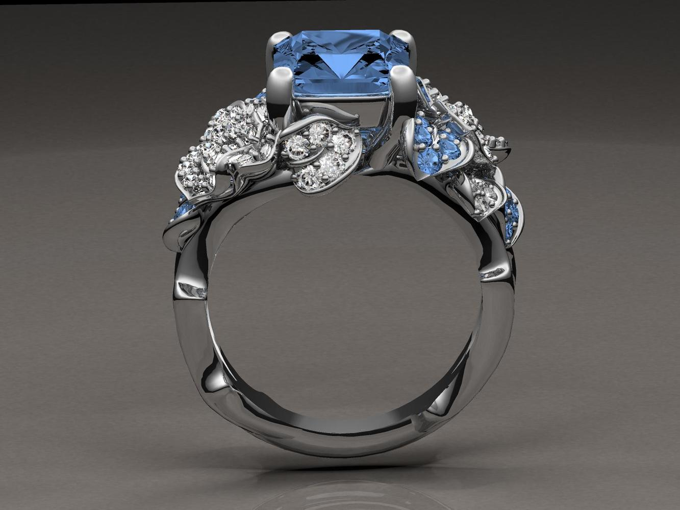 Sapphire Ring Eye Candy