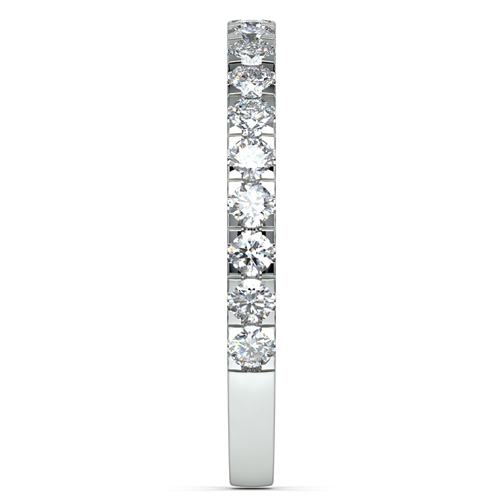 Petite Pave Diamond Wedding Ring 2