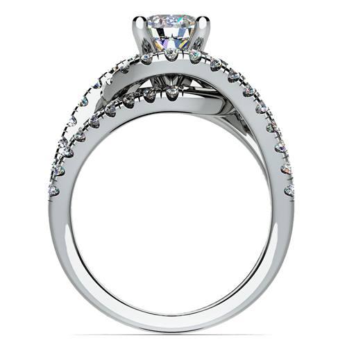 Split Shank Diamond Wrap ring 1