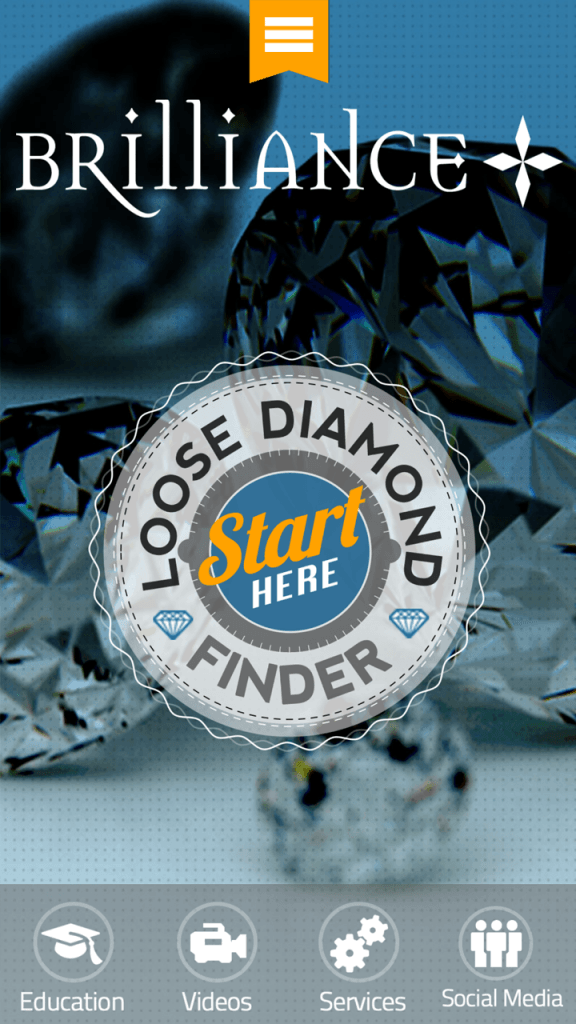 Diamond Finder app 1