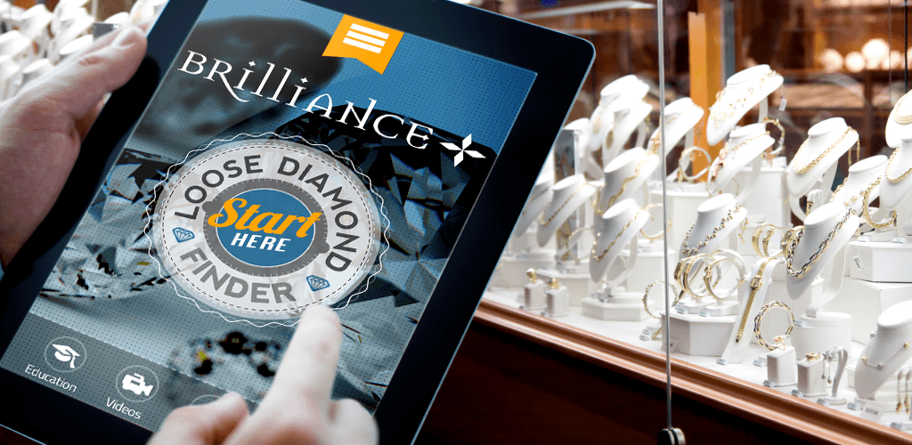 Diamond Finder app promo image