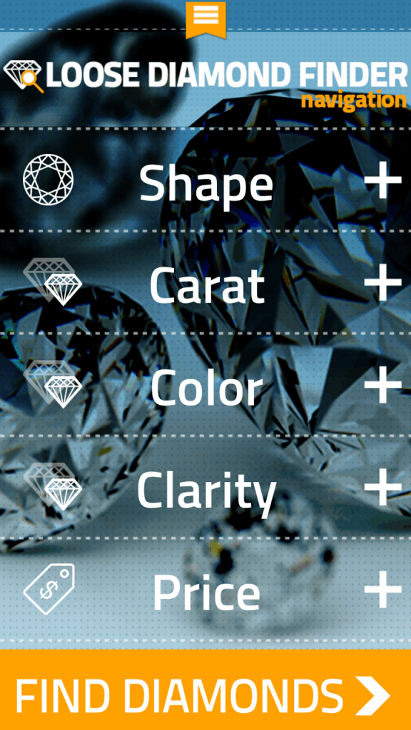 Diamond Finder app 2