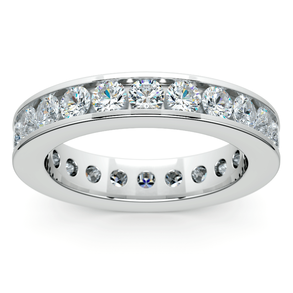 Channel Diamond Eternity Ring