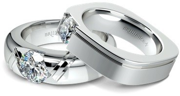Zephyr and Achilles Mangagement Rings by Brilliance