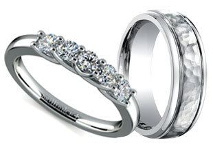 if you like the look of platinum but want to spend a little less white gold is a fantastic choice when comparing white gold vs yellow gold white gold is - Wedding Ring Vs Engagement Ring