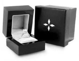Diamond Ring In Box