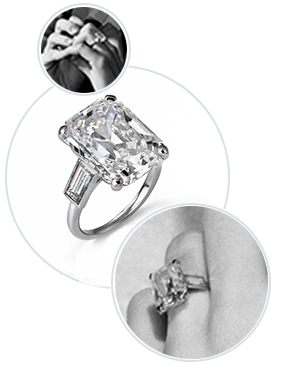 Grace Kelly's Engagement Ring