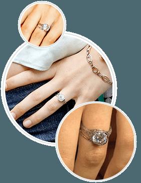 Behati Prinsloo's Engagement Ring