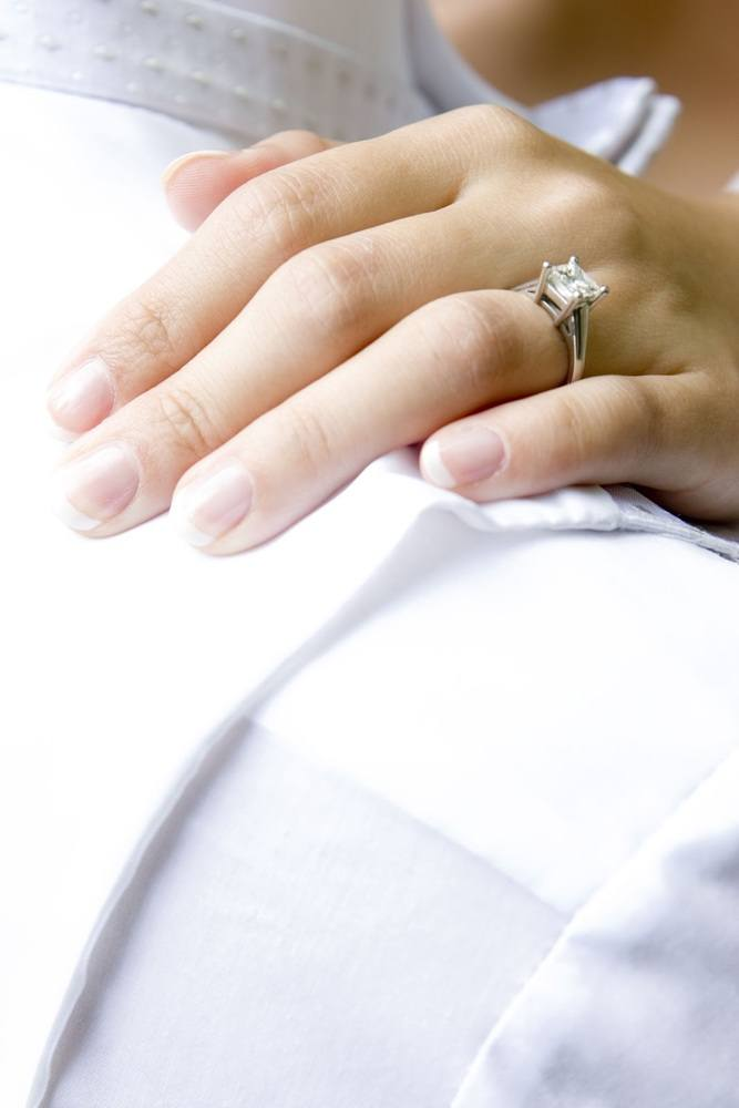 Diamond Shape for Her Finger