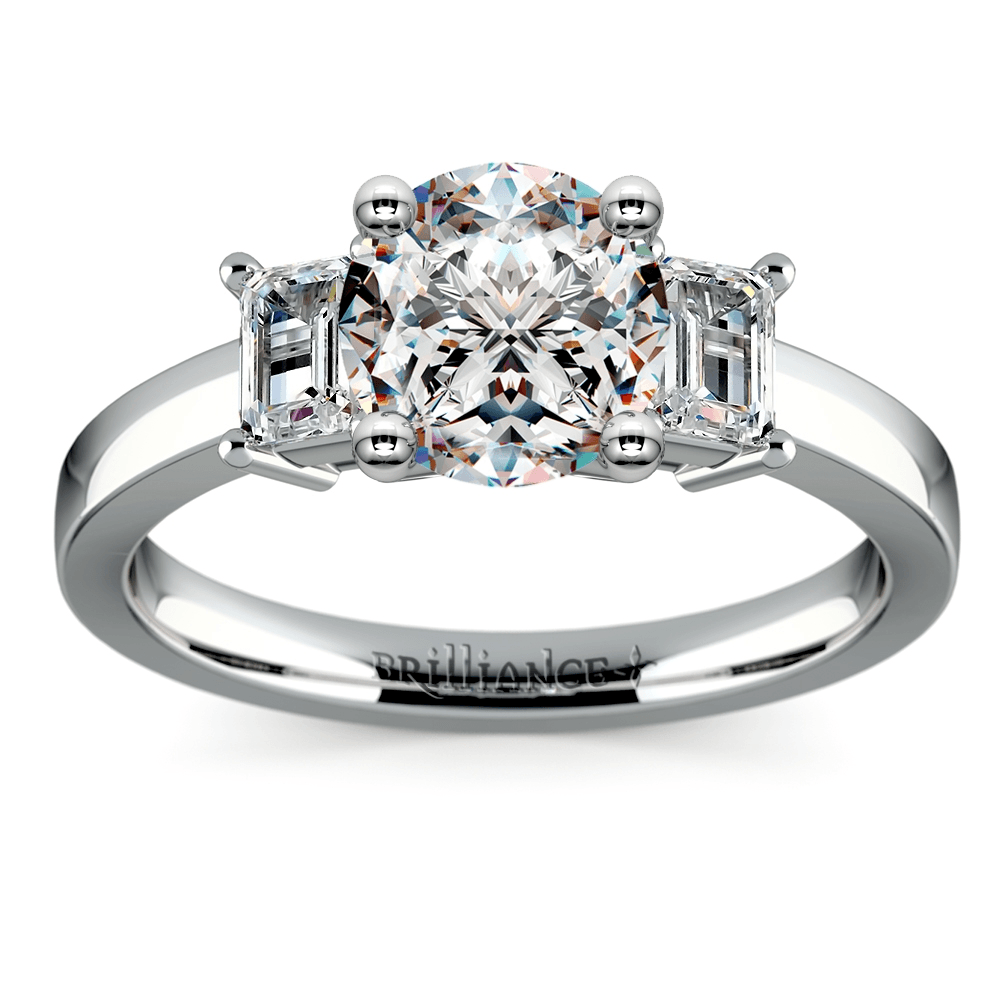 Three Stone Engagement Ring History