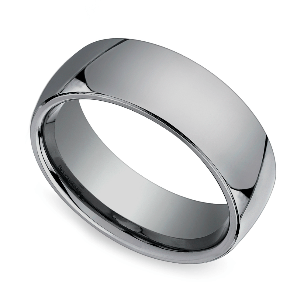 Hot or Not Mens Tungsten Wedding Rings