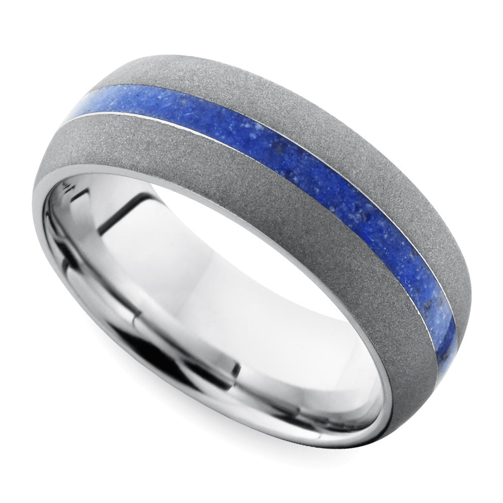 Go Patriots! This men's sports wedding bands would make Tom Brady proud!