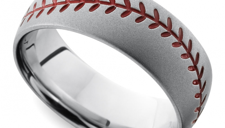 cool mens wedding rings for sports fanatics - Unusual Mens Wedding Rings