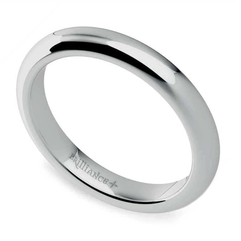Comfort Fit Promise Ring