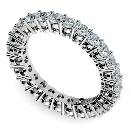 Diamond Eternity Band in White Gold