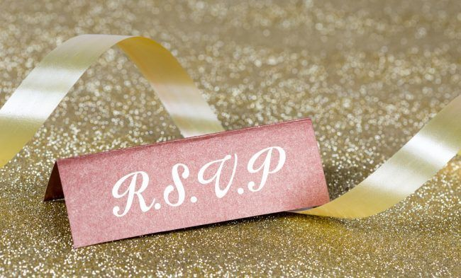 Creative Wedding RSVPs