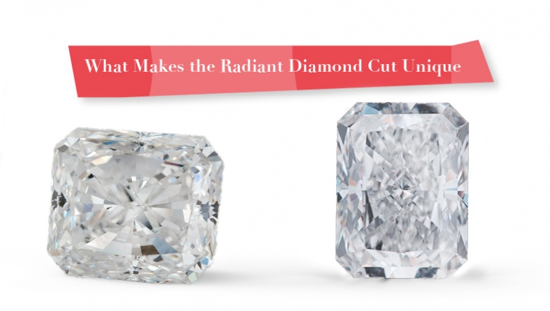 Radiant Diamond Cut Unique