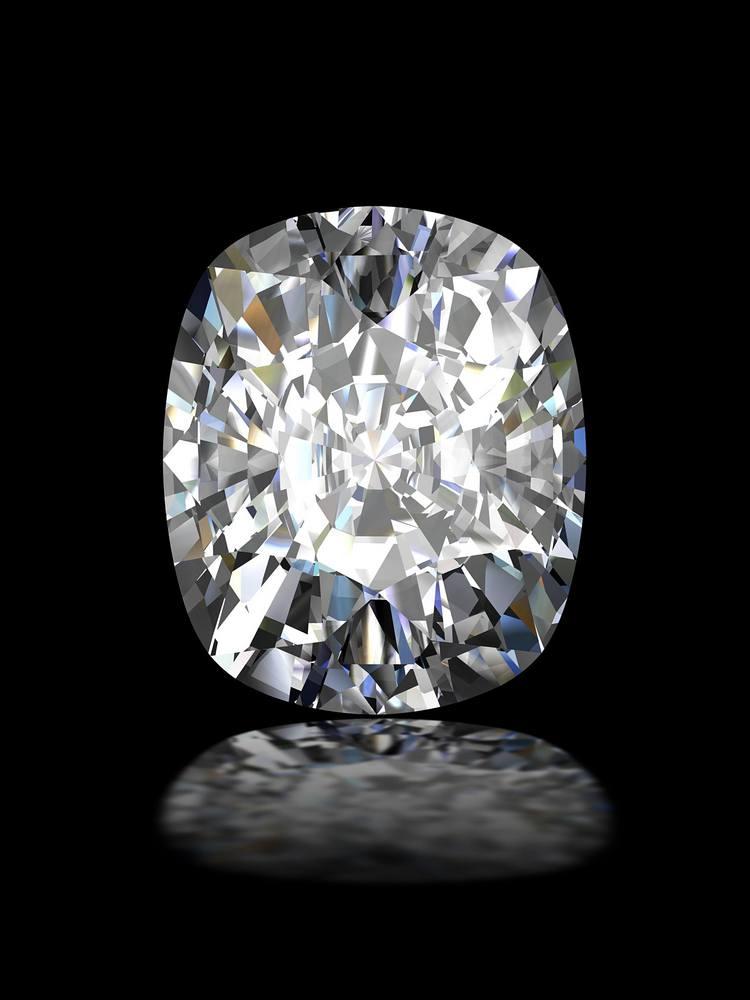 Pillow-Cut Diamond