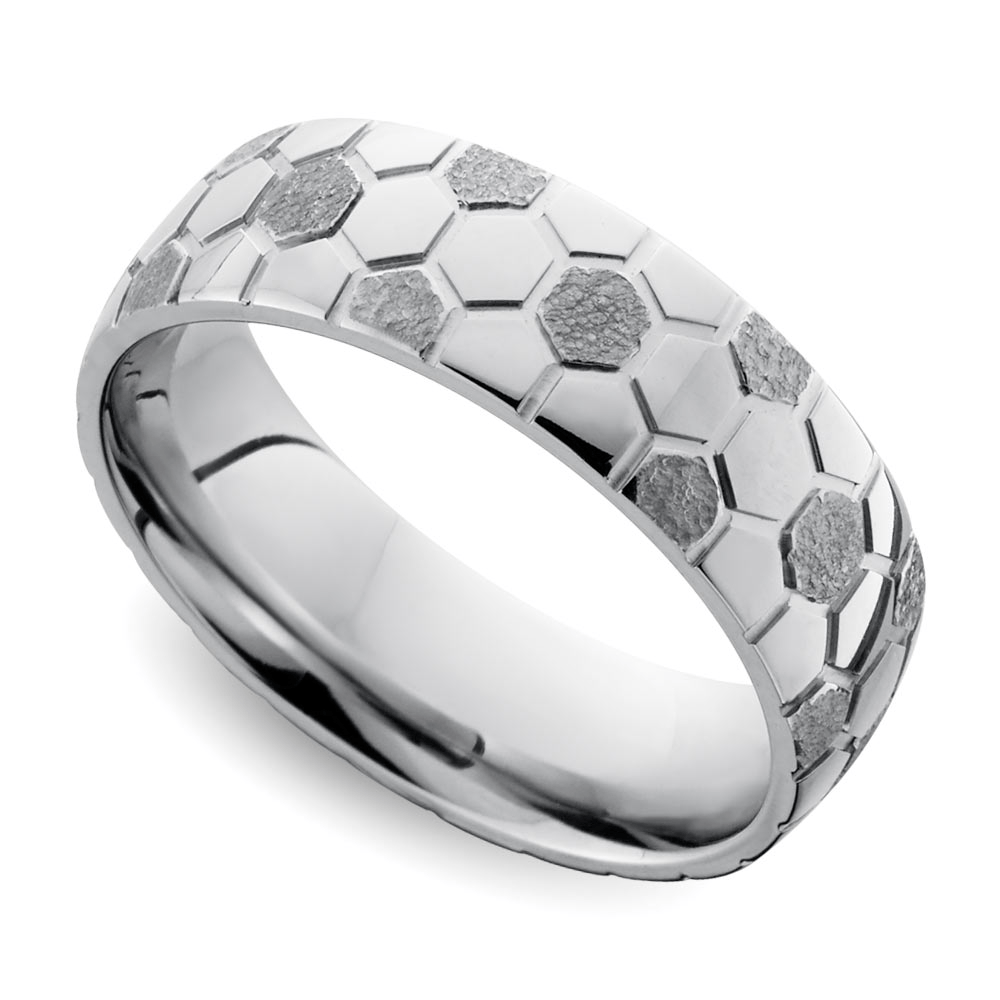 Image Result For Unique Mens Wedding Band