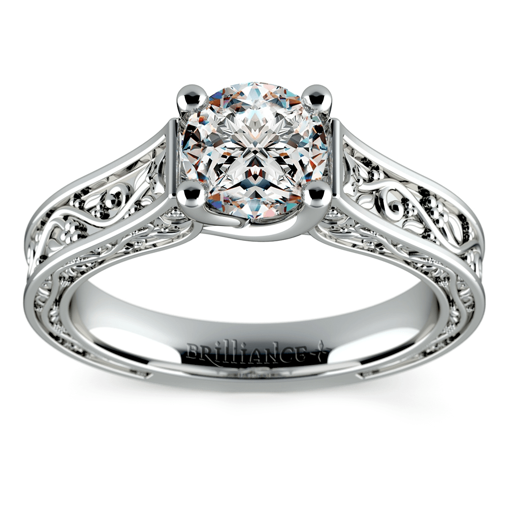 antique style wedding rings - Antique Style Wedding Rings