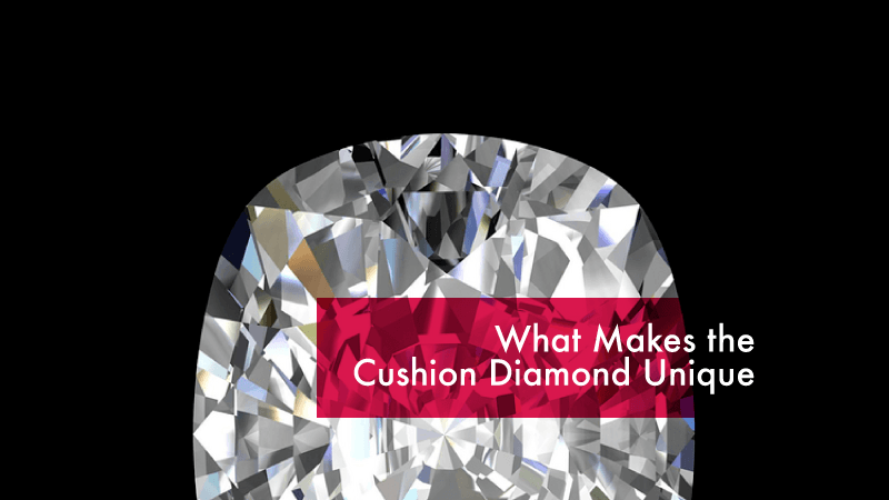 Unique Cushion Diamond