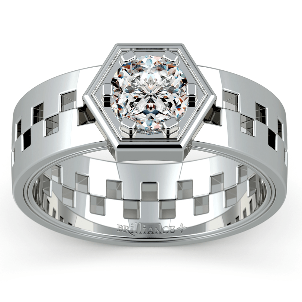 Castor Solitaire Management™ Ring