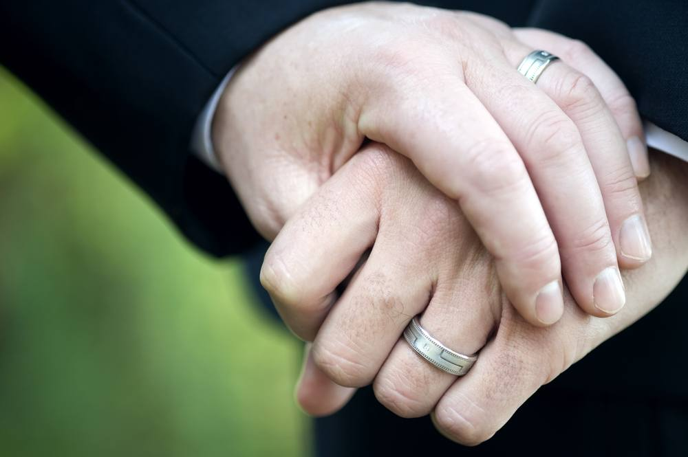 gay wedding rings - Wedding Rings On Hands