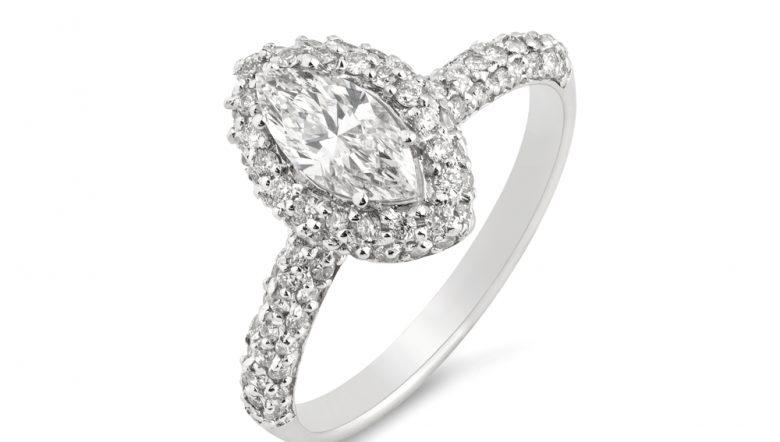 marquise diamond setting