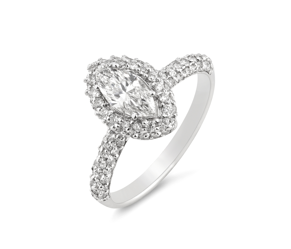 Marquise Diamond Settings