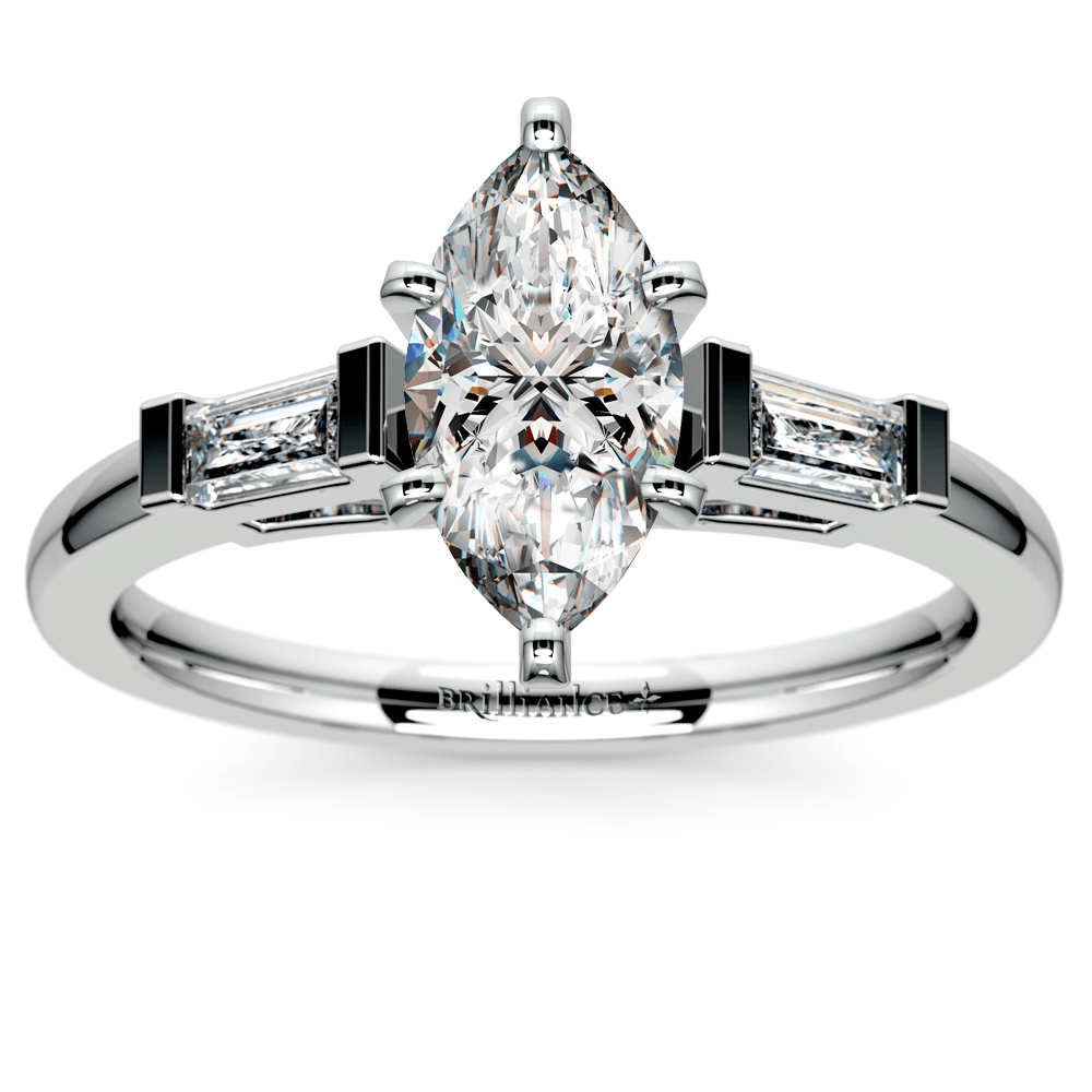 marquise diamond setting