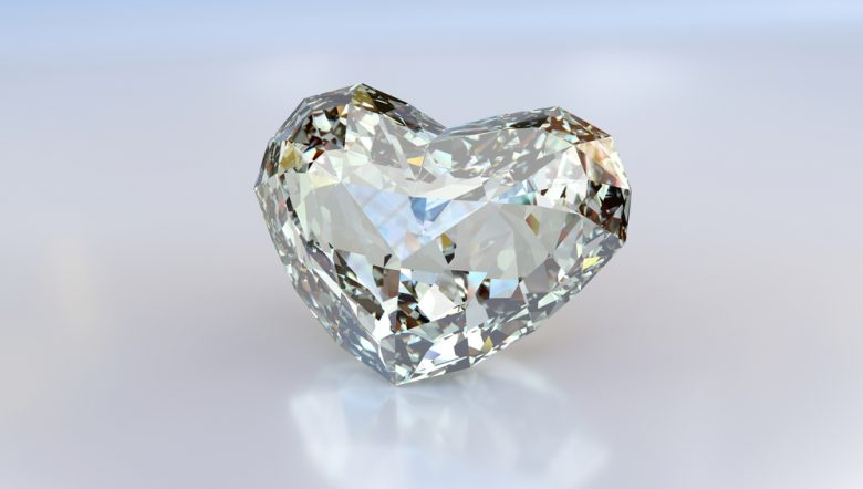 heart cut diamond loose