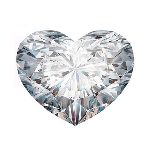 heart cut diamond loose